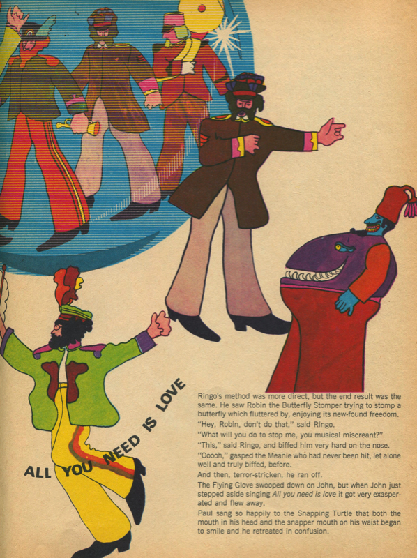 The official yellow submarine magazine pg