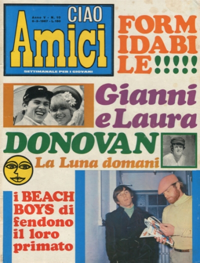 CIAO AMICI #10  (1967)