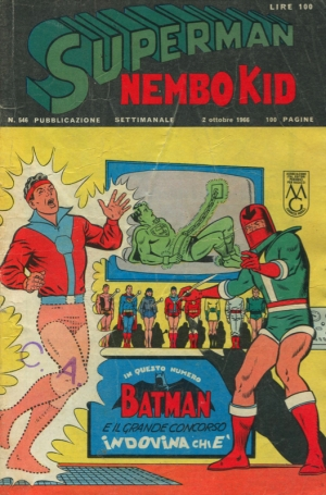 SUPERMAN/NEMBO KID #546