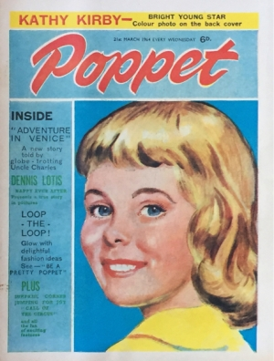 POPPET 21st MARCH  1964