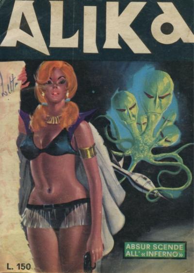 ALIKA #19 (COMIC BOOK)