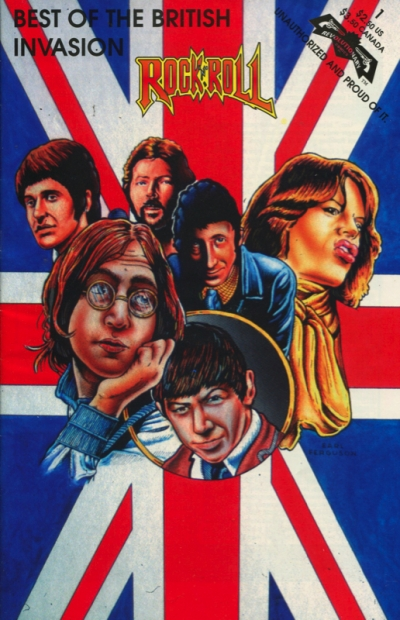 ROCK&ROLL COMICS: THE BEST OF BRITISH INVASION: VOL.1