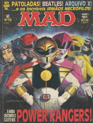 MAD (MAGAZINE) #119 (BRASILE)
