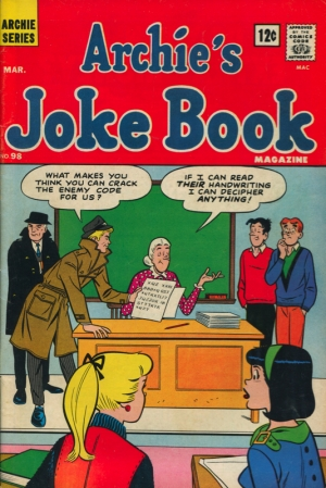 ARCHIE'S JOKE BOOK #98