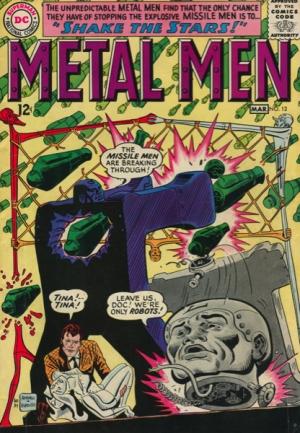 METAL MEN #12