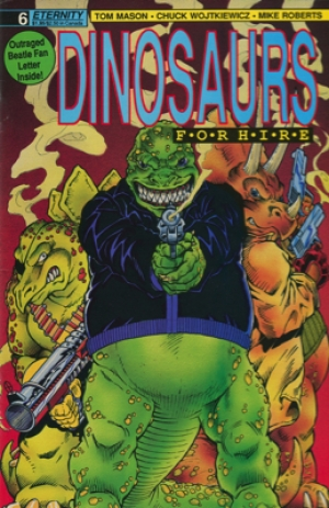 DINOSAURS FOR HIRE #6