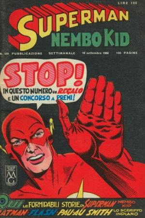 SUPERMAN/NEMBO KID #544