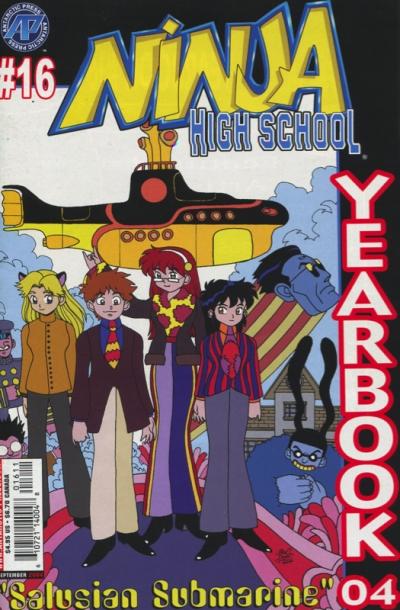 NINJA HIGH SCHOOL YEARBOOK #16