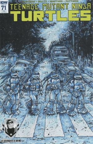 TEENAGE MUTANT NINJA TURTLES #71 (VARIANT COVER)
