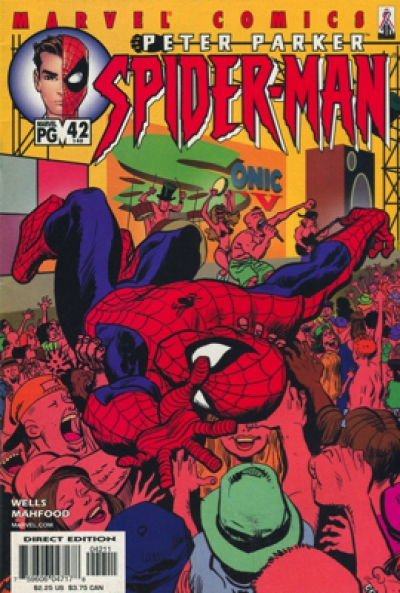 PETER PARKER SPIDER-MAN # 42