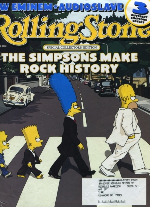 ROLLING STONE # 910 A SIMPSON TRIBUTE TO THE BEATLES