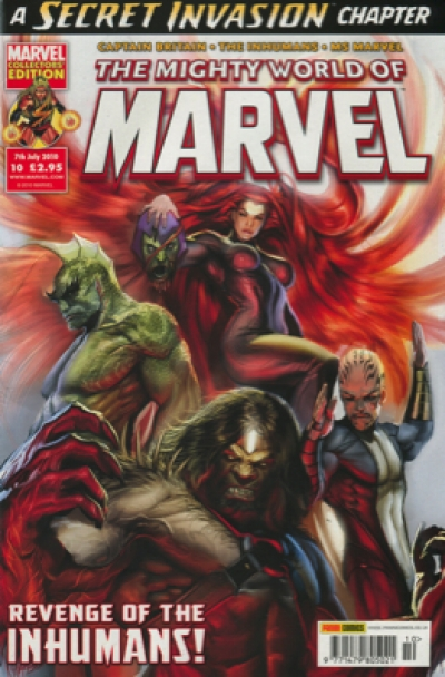 THE MIGHTY WORLD OF MARVEL #10