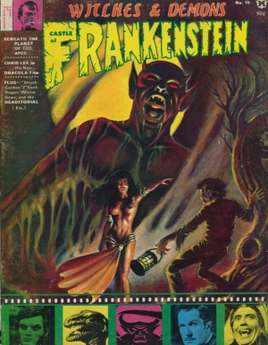 CASTLE OF FRANKENSTEIN #15