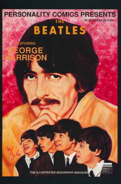 PERSONALITY COMICS: THE BEATLES GEORGE HARRISON