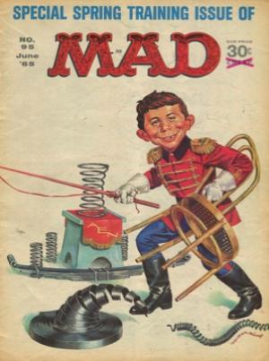 MAD (MAGAZINE) #95