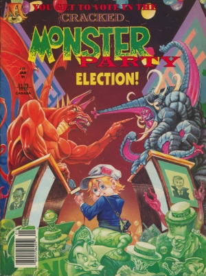 CRACKED MONSTER ELECTION PARTY
