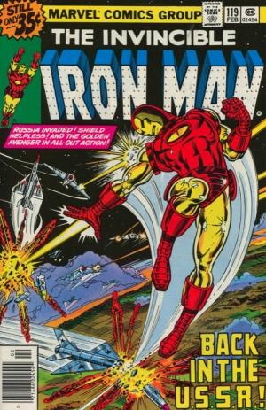 THE INVINCIBLE IRON MAN #119
