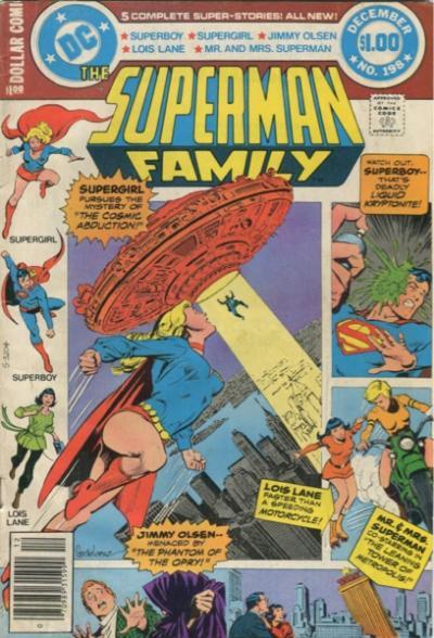 SUPERMAN FAMILY #198