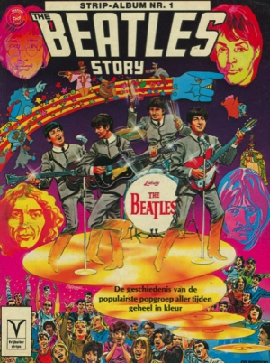 THE BEATLES MARVEL STORY - MARVEL SUPER SPECIAL (BELGIO)