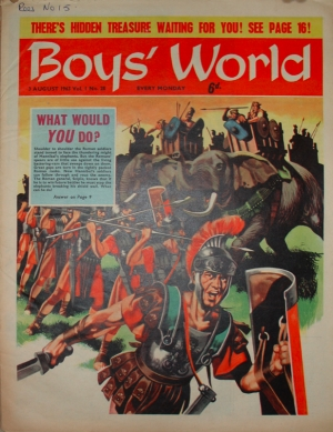 BOY'S WORLD #28