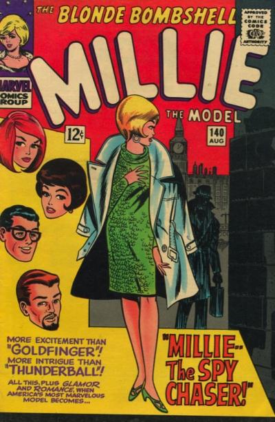 MILLIE THE MODEL #140