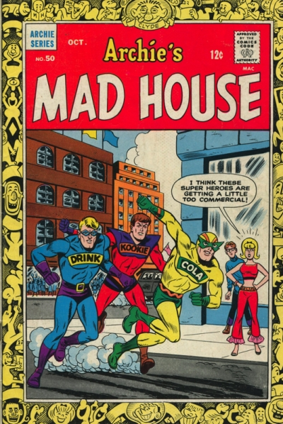 ARCHIE'S MAD HOUSE #50