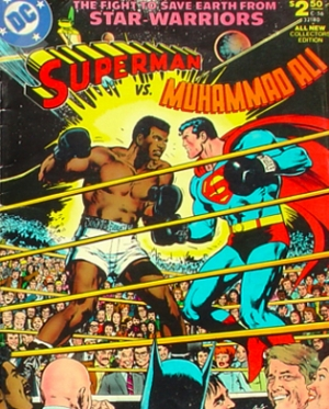 SUPERMAN VS CASSIUS CLAY