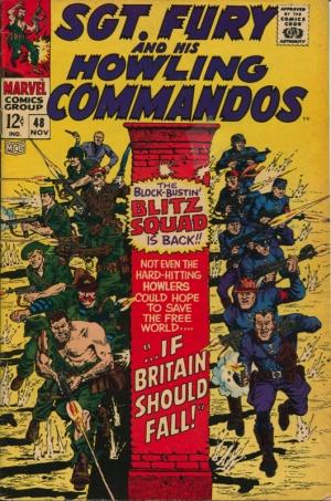 SGT. FURY & HIS HOWLING COMMANDOS #48