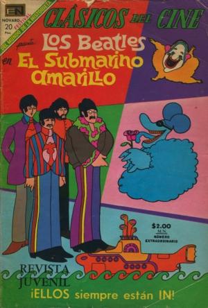 CLASICOS DEL CINE: LOS BEATLES EN EL SUBMARINO AMARILLO