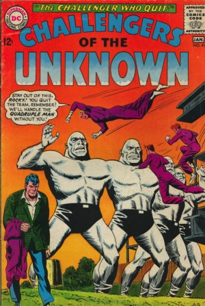 CHALLENGERS OF THE UNKNOWN #41