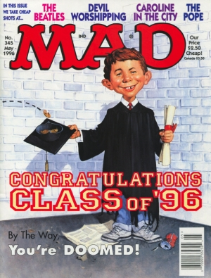 MAD (MAGAZINE) #345