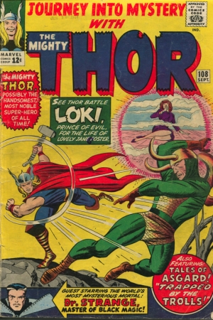 JOURNEY INTO THE MISTERY: THOR #108