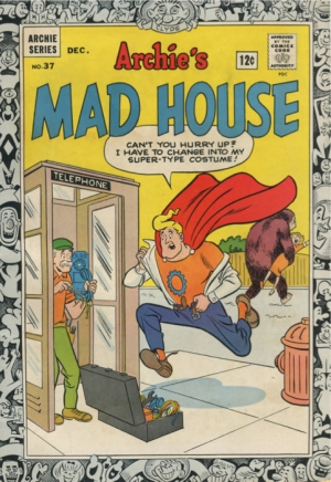 ARCHIE'S MAD HOUSE #37