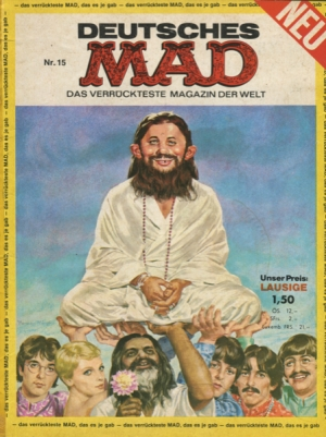 DEUTSCHES MAD #15 (MAGAZINE)
