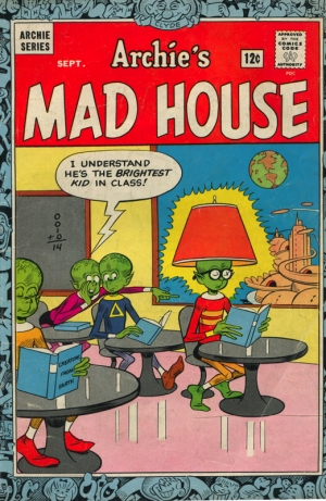 ARCHIE'S MAD HOUSE #35
