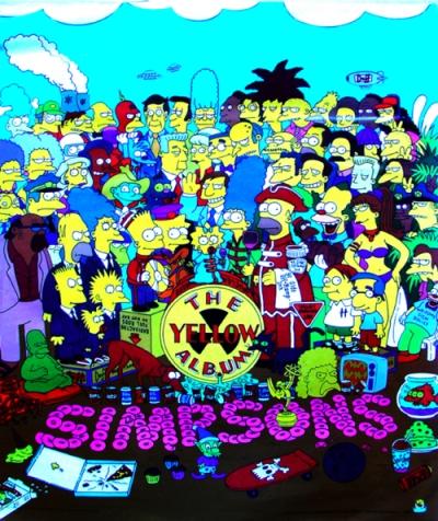 THE SIMPSONS: YELLOW ALBUM POSTER