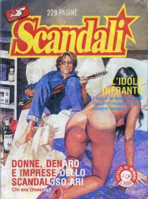 SCANDALI #14 L'IDOLO INFRANTO