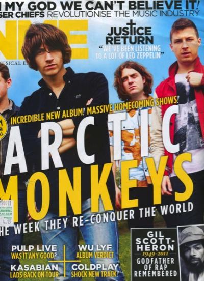NEW MUSICAL EXPRESS 17 JUNE 2011