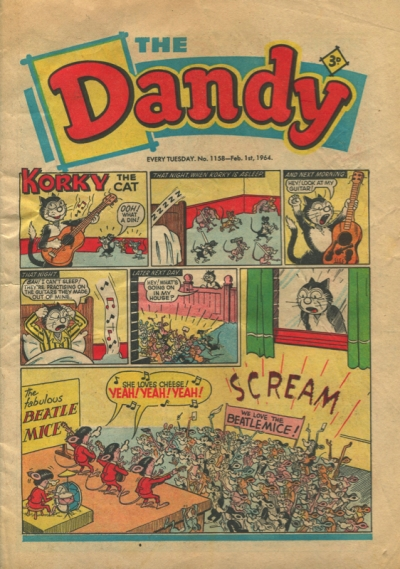 THE DANDY #1158