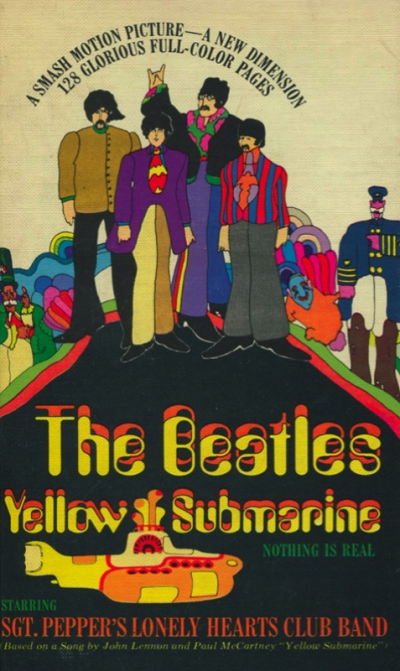 THE BEATLES YELLOW SUBMARINE (SOFT COVER)