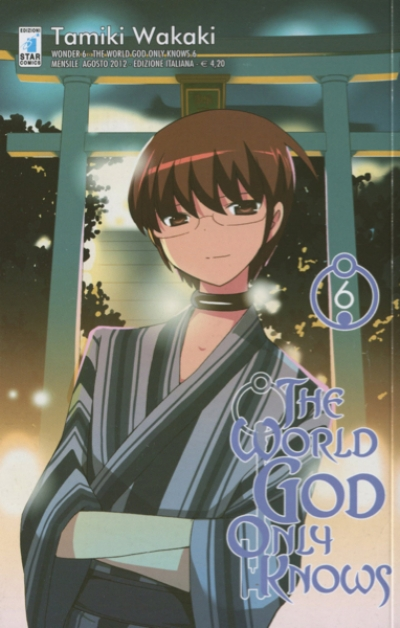 THE WORLD GOD ONLY KNOWS #6 (ITALIA)