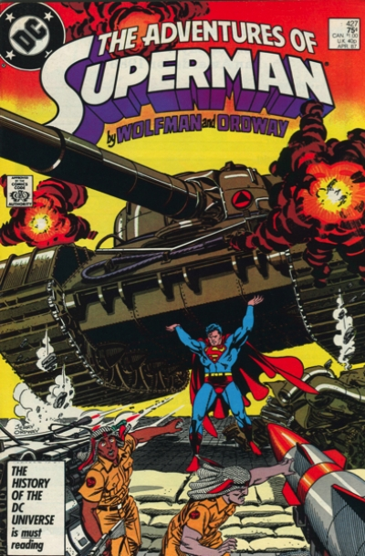 THE ADVENTURES OF SUPERMAN #427