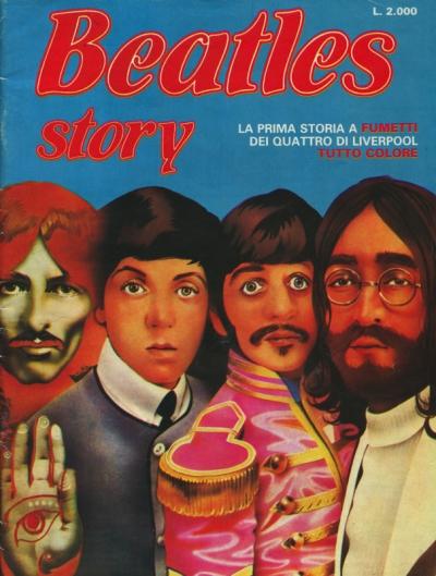 THE BEATLES STORY - ALLEGATO AL NUMERO 7 DI ROLLING STONE