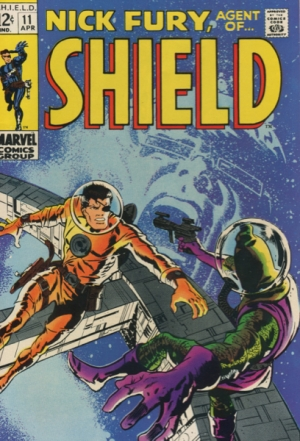 NICK FURY AGENT OF SHIELD #11