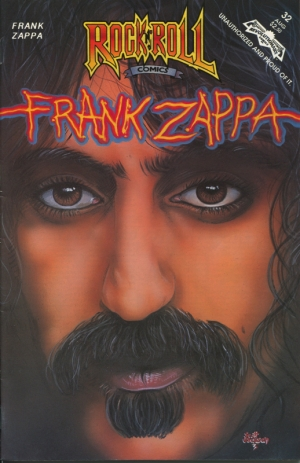 ROCK&ROLL COMICS #32: FRANK ZAPPA