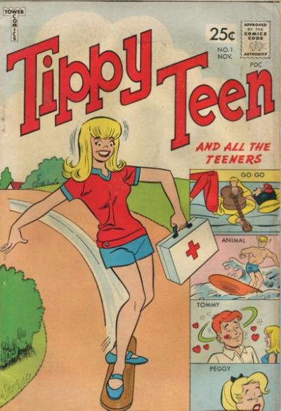 TIPPY TEEN #1