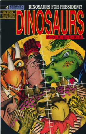 DINOSAURS FOR HIRE #4