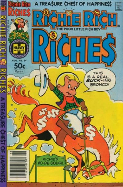 RICHIE RICH RICHES #54