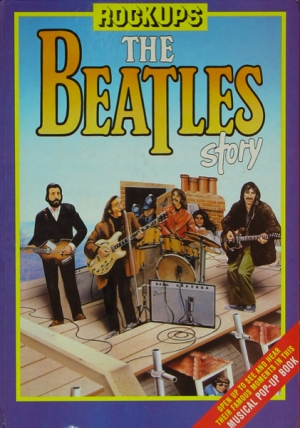 BEATLES STORY POP UP BOOK - ROCK UPS (USA)