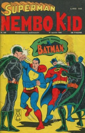 SUPERMAN/NEMBO KID #540